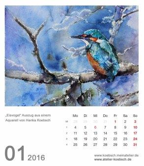 Kalenderblatt Januar 2016