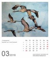 Kalenderblatt März 2016