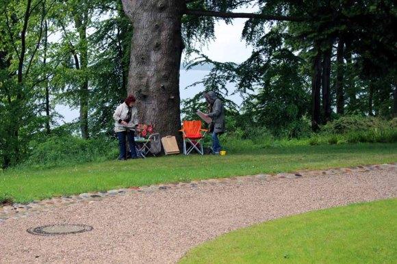 Malen im Park von Wiligrad (c) Frank Koebsch (21)