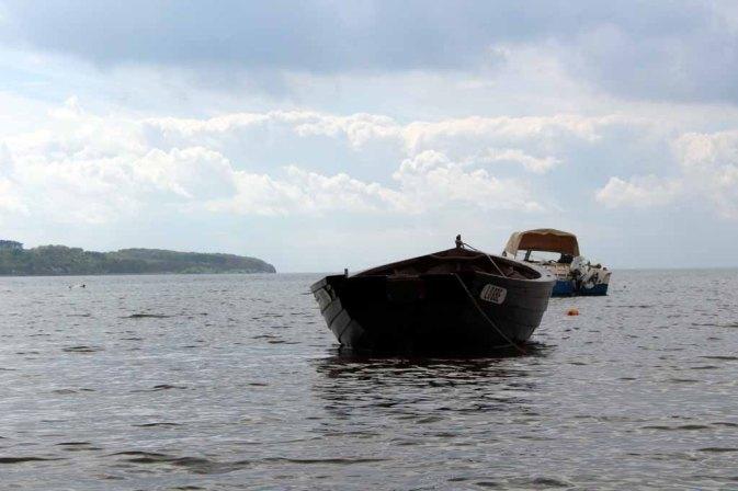 Boote im Bodden vor Middelhagen (c) Frank Koebsch