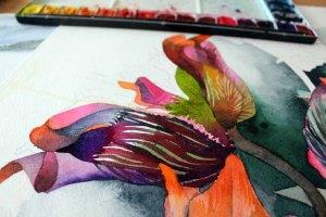Die Vielzahl der Details in der Blüte des Sebnitzer Flussteufels fesseln später das Auge (c) Frank Koebsch (1)