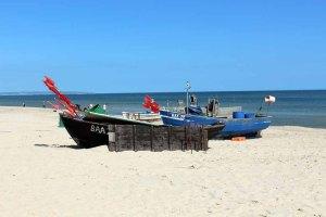 Fischerboote am Strand von Baabe (c) Frank Koebsch (2)