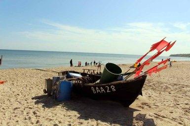 Fischerboote am Strand von Baabe (c) Frank Koebsch (3)