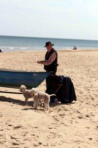 Malen am Strand von Baabe (c) Frank Koebsch (3)