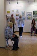 Schnappschüsse von der Eröffnung der Ausstellung Faszination Aquarell 2015 (c) Frank Koebsch (1)