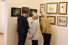 Schnappschüsse von der Eröffnung der Ausstellung Faszination Aquarell 2015 (c) Frank Koebsch (4)