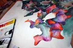 Schritt für Schritt entstehen die Blüten des Sebnitzer Flussteufels (c) Frank Koebsch (2)