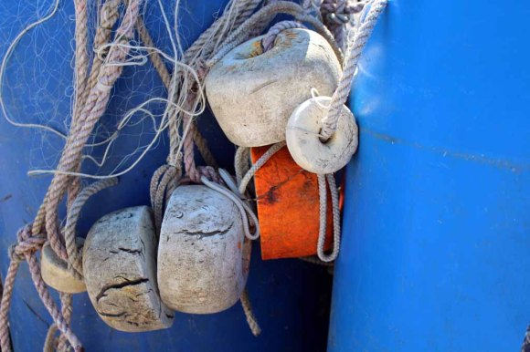 Wunderbare Details an den Fischerboote am Strand von Baabe (c) Frank Koebsch (3)