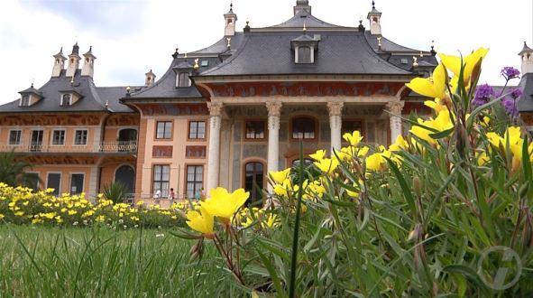 Das Kunstgewerbemuseum Dresden im Berg- und Wasserpalais von Schloss Pillnitz (c) DRESDENEINS.TV