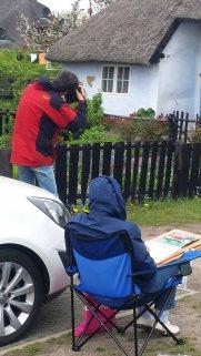 Das Pfarrwitwenhaus lockt Fotografen und Maler gleichzeitig (c) Frank Koebsch