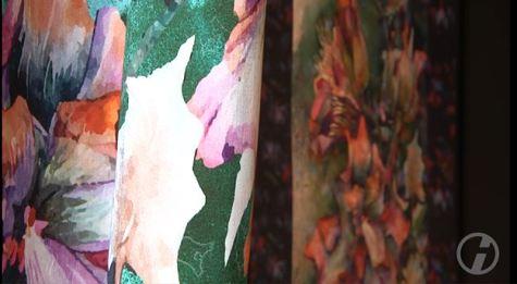 Farbspiele des Sebnitzer Flussteufels auf Basis des Aquarells von Frank Koebsch (c) DRESDENEINS.TV (1)