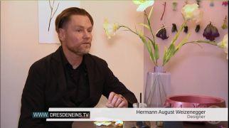 Herrmann August Weizenegger berichtet üder das Designmärchen - Die falsche Blume (c) DRESDENEINS.TV