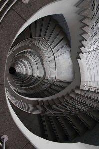 Interessantes Treppenhaus im Landesbehördenzentrum Rostock © Frank Koebsch (1)
