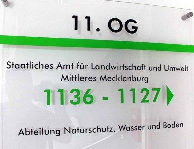 STAATLICHES AMT FÜR LANDWIRTSCHAFT UND UMWELT MITTLERES MECKLENBURG (c) Frank Koebsch
