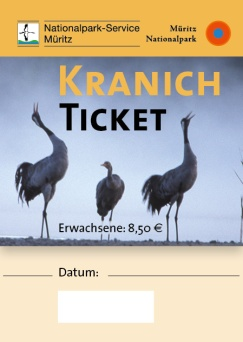 Das Kranich Ticket 2015