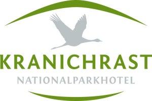 Logo des Nationalparkhotels Kranichrast