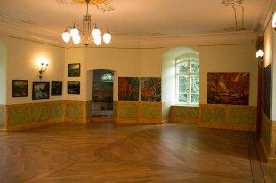 Ausstellungssaal im Schloss Meyenburg (c) Frank Koebsch