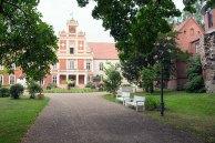 Blick auf das Schloss Meyernburg (c) Frank Koebsch