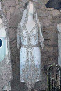 Hochzeitskleid 1917 – Friedhelm Ott © Modemuseum Schloss Meyenburg