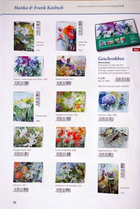 Kunstkarten mit Motiven von Hanka & Frank Koebsch im Herbstprogramm des Präsenz Verlages