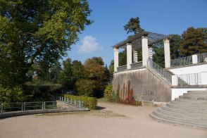Schlossterrassen im Landschaftspark Putbus (c) Frank Koebsch