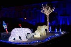 Eisbären bei der Rostocker Lichtwoche (c) Frank Koebsch (1)