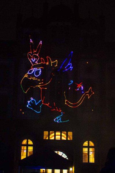 Lasershow bei der 14. Rostocker Lichtwoche (c) Frank Koebsch (1)