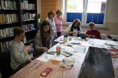 Malen mit Bewohnern der Szialtherapie Gut Adolphshof in Middelhagen (c) Frank Koebsch (2)