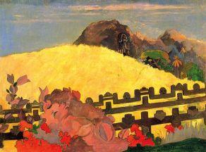 Tahitian - PARAHI TE MARAE - Paul Gauguin 1892