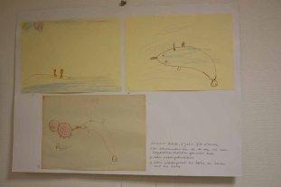 Bilder von Summer Rohde - Teilnehmer am Wettbewerb - Kinder malen Ihr Dorf (c) Frank Koebsch