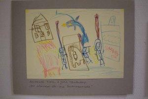 Der Lüsewitzer See - eine Unterwasserwelt Bild von Savannah Fietz für den Malwettbewerb - Mein Dorf (c) Frank Koebsch