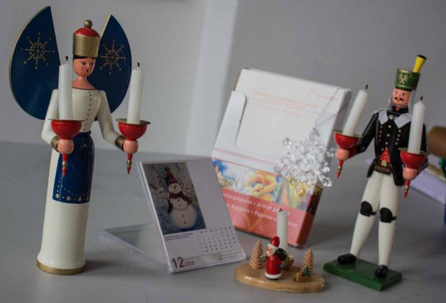 Motive für Weihnachtsaquarelle (c) Frank Koebsch