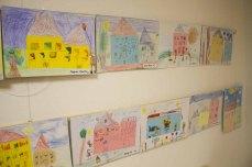 Teilnehmer der Altersgruppe von 6 bis 7 Jahren am Malwettbewerb - Unser Dorf (c) Frank Koebsch (1)