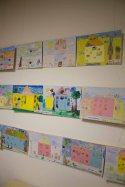 Teilnehmer der Altersgruppe von 6 bis 7 Jahren am Malwettbewerb - Unser Dorf (c) Frank Koebsch (2)