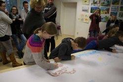 Kinder beim Malen in Groß Lüsewitz (c) Frank Koebsch (1)