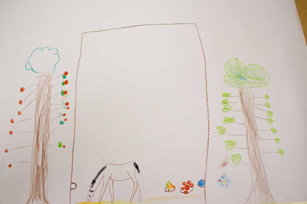 Wir malen gemeinsam mit Kindern unser Dorf | Bilder, Aquarelle vom ...