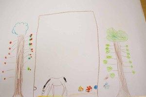 Kinder malen ihr Dorf in Groß Lüsewittz (c) Frank Koebsch (8)