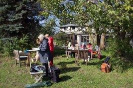 Malen im Garten der Alten Büdnerei Kühlungsborn (c) Frank Koebsch (1)