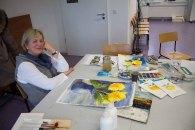 Malen macht Spaß - Aquarellkurs an der VHS Rostock (c) Frank Koebsch