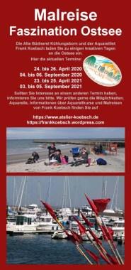 Malreise Faszination Ostsee in der Alten Büdnerei Kühlungsborn 2020 und 2021