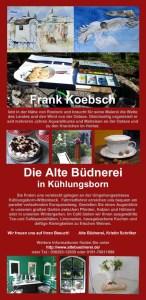 Malreise Faszination Ostsee in der Alten Büdnerei Kühlungsborn mit Frank Koebsch 2018