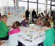 Kinder malen mit Frank Koebsch bei Rostock kreativ (c) Annett Grabow (3)
