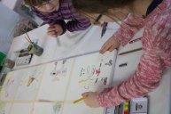 Kinder malen mit Frank Koebsch bei Rostock kreativ (c) Annett Grabow