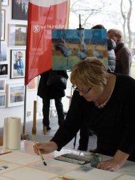 Malen bei Rostock kreativ in der Kunsthalle Rostock (c) Annett Grabow (1)