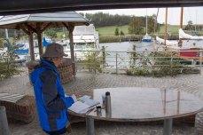 Malen im Hafen von Seedorf (c) Frank Koebsch (1)