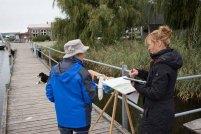 Malen im Hafen von Seedorf (c) Frank Koebsch (10)