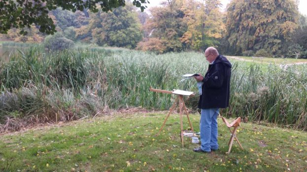 Malen im Park von Puttbus (c) Frank Koebsch (4)