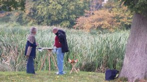 Malen im Park von Puttbus (c) Frank Koebsch (6)