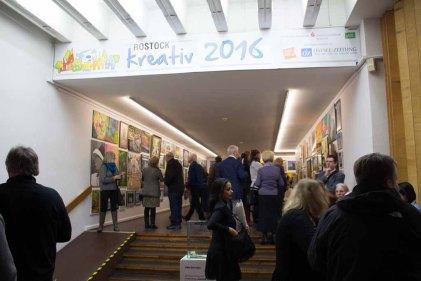 Rostock kreativ - Schnappschüsse vom Tag der Eröffnung (c) Frank Koebsch (1)
