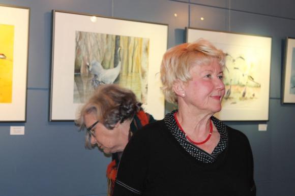 Besucher der Ausstellung von Hanka u Frank Koebsch im Graal Müritz ((c) Andrea Conteduca (3)